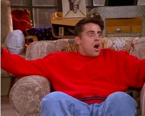 Joey secret face!
