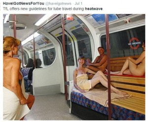 Standard public transport this week.